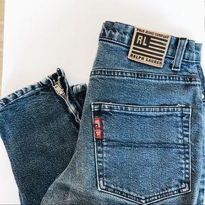 Rare Vintage Ralph Lauren Mom Cropped Jeans